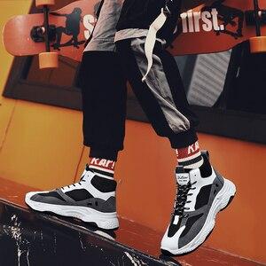 Image 4 - BIGFIRSE אופנה נעליים לגברים מותג מגמת חיצוני מגמת נעלי גבר פנאי נעלי סתיו Zapatillas Hombre 2019 גברים סניקרס