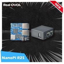 Realqvol friendlyelec 2021 novo nanopi r2s duplo gbps ethernet gateways apoio openwrt lede ssr v2ray placa linux rockchip rk3328