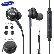 Samsung Oortelefoon IG955 3.5Mm In Ear Met Microfoon Draad Headset Voor Huawei Xiaom Akg Samsung Galaxy S8/s8 + S9 S10 Smartphone