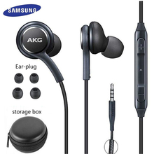Samsung écouteurs IG955 3.5mm dans loreille avec micro fil casque pour huawei xiaom akg Samsung Galaxy S8/s8 + S9 S10 smartphone