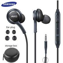Samsung kulaklık IG955 3.5mm kulak içi mikrofon tel kulaklık için huawei xiaomi akg Samsung Galaxy S8/s8 + S9 S10 smartphone