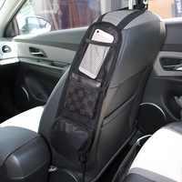 Bolsa de bolsillo lateral de asiento para coche, organizador, bolsa de almacenamiento, portabotellas, bolsa para asiento de coche