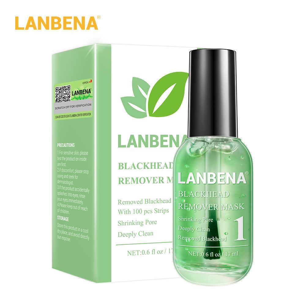 นาฬิกา LANBENA Blackhead Remover ชุดซ่อม Blackhead Remover หน้ากากใบหน้า + รูขุมขน Smoothing Essence หน้ากากทำความสะอาดลึก Skin Care
