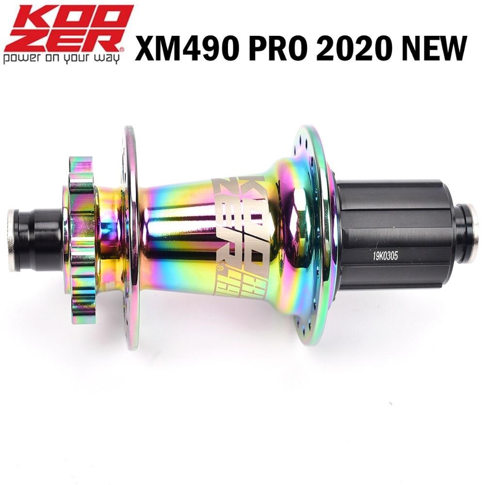 Koozer XM490 PRO Colorful Bicycle Disc Brake Hub 4 Bearing MTB Mountain Bike Hub