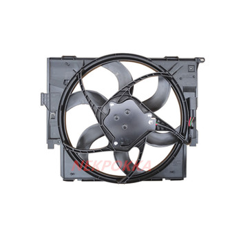 Cooling fan for BMW F35 3 Series,Condenser electronic fan,water tank fan for BMW 3 Series 2015- image