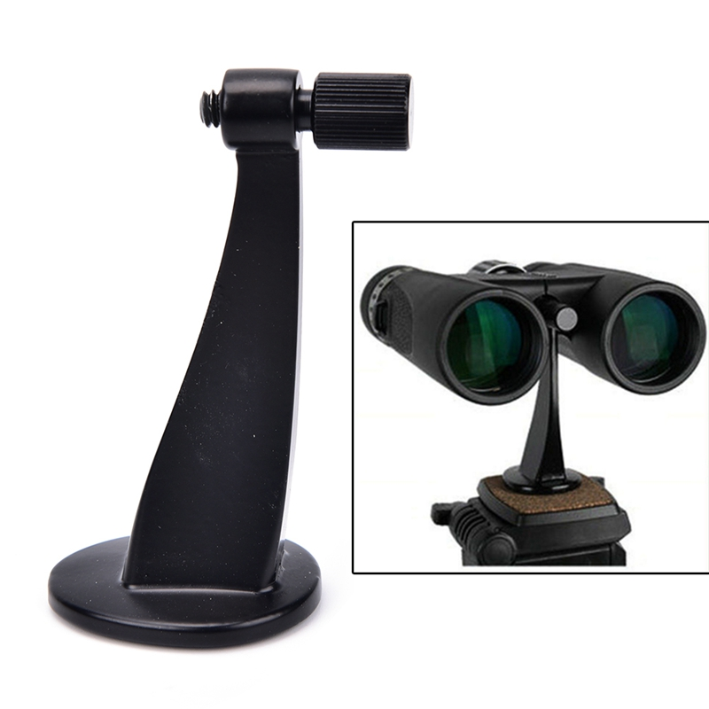 Binoculars Adapter Telescope Tripod Connector Mount Holder Standard Fit / Fits All Standards