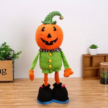 Halloween Bambola Della Decorazione Della Zucca Gatto Strega Bambola Della Peluche Rifornimenti Del Partito di Halloween per I Bambini il Regalo Per La Casa Ornamenti