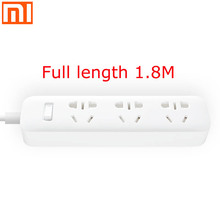 Original xiaomi plug in charging patch panel adapter 3 digits 1.8M security design to prevent childrens simple home