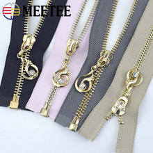 Diy-Bags Decoration Jackets Sewing-Accessories Zippers 5--Open-End Coat Metal 1pc 60/85mm