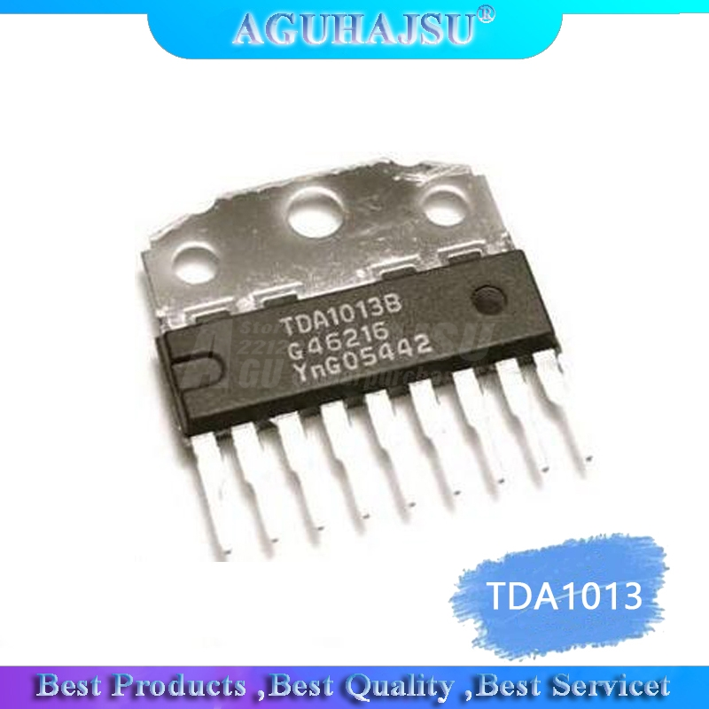 1pcs/lot TDA1013 TDA1013B Audio Amplifier States Send An Large Amount Of The PriceFree Shipping SIP-9