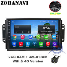 ZOHANAVI 9 inch car radio for Chery Tiggo 3 3X Tiggo 2 Android 9.0 car dvd player with GPS Navi,bluetooth,SWC,wifi(China)