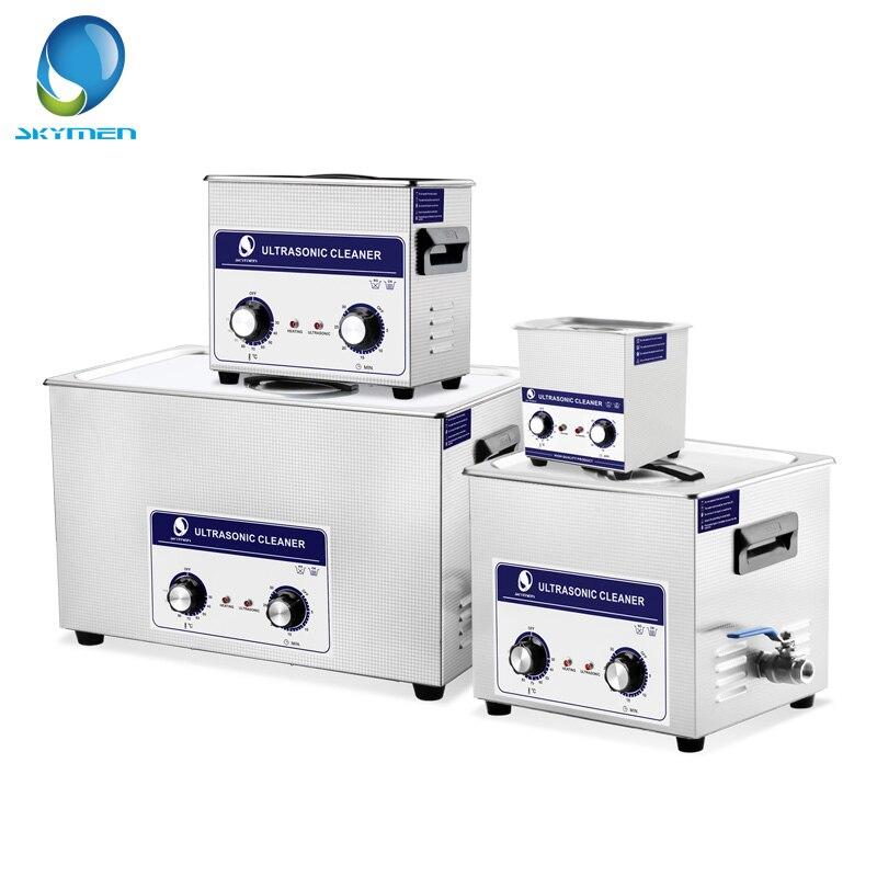Skymen 2-30l 600 w peças de automóvel do motor do injetor do banho do líquido de limpeza ultrassônico máquina de limpeza do ultrassom do laboratório médico pwb cleaner lavagem