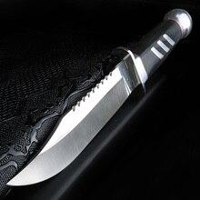 XUAN couteau de survie en plein air FENG, couteau de chasse tactique de camping, couteau de chasse militaire en acier à haute dureté