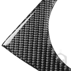 Image 5 - لوحة صندوق تروس من الكربون الهجين ، لتويوتا بريوس XW30 ZVW30 ZVW35 2009 2015 ، ملحقات السيارة الداخلية