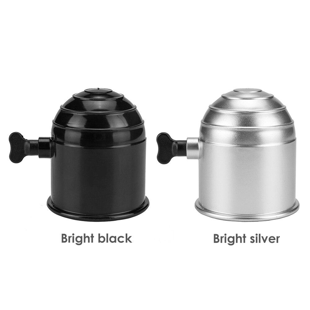 Universal 50mm remolque cubierta de bola de barra de remolque tapa con perilla de tornillo Hitch caravana remolque protección estilo de coche Auto tapa