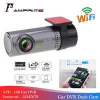 AMPrime Mini WiFi voiture DVR caméra tableau de bord 360 degrés HD 720P enregistreur vidéo Auto avant tableau de bord caméra numérique enregistreur caméscope