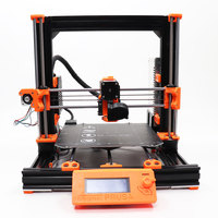 Cloned Prusa i3 MK3S Bear 3d printer full kit including multi colorful extrusion anodized after cut magnet heated bed PEI sheet