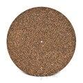 3 мм пробка и Резина Поворотная платформа коврик нескользящий антистатический для LP виниловая запись высокое качество