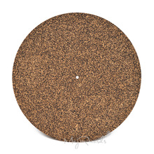 3mm Cork & Rubber Turntable Platter Mat Slipmat Anti-Static For LP Vinyl Record High Quatilty