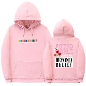 Image 4 - Fashion printing TRAVIS SCOTT ASTROWORLD Hoodies multiple colour Hoodie streetwear Mens Womens Long Sleeve Pullover Sweatshirt