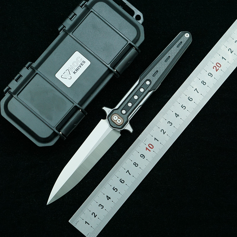 knife handle camping DG12 folding fiber blade G10 Tools 440C outdoor Survival knife EDC Carbon Cutter NOC tactical knives pocket