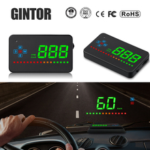 Head Up Display Car A2 Hud Gps Speedometer Car Elec