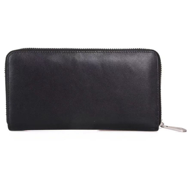 Brand Man Luxury Long Zipper Wallet Genuine Leather City Jogging Bags