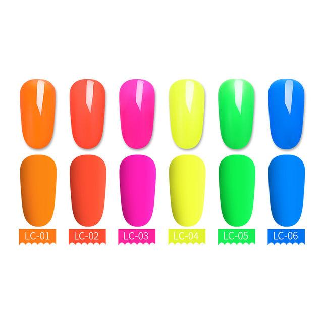 LILYCUTE Fluorescence Neon Gel Polish 7ml