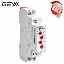 цена на GEYA GRV8-04 Three Phase Voltage Control Relay Phase Sequence Phase Failure Over Voltage Undervoltage Protection 8A 10A