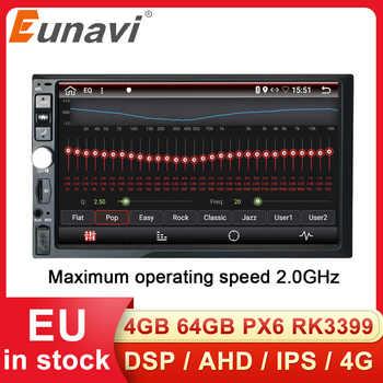 Eunavi 2 Din 7'' Universal Android 9,0 4GB 64GB Auto Multimedia Radio Stereo GPS Navigation WiFi Touchscreen DSP 2din KEINE DVD-CD