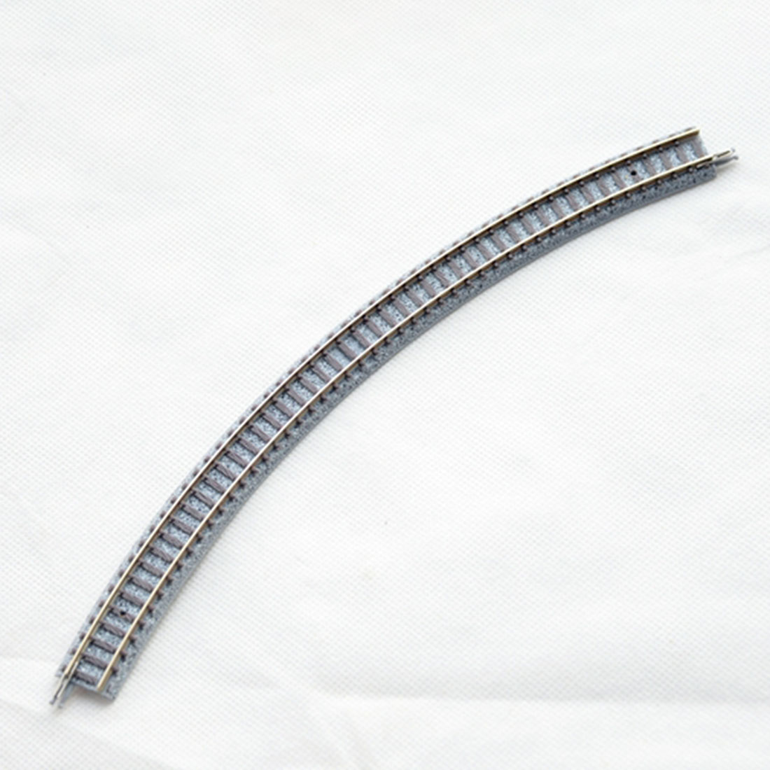 1:160 Train Track Model 1122 C317-45 Curved Track of 9mm Track Gauge for N-scale image