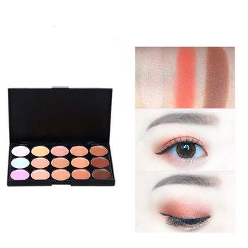 Brand New 15 kolorów profesjonalna paleta konturów kobiet konturowania makijażu kosmetyczne twarzy pielęgnacja twarzy krem korektor paleta tanie i dobre opinie MEISHENJIE 15 colors Wodoodporny BRIGHTEN Naturalne DŁUGOTRWAŁY łatwe do noszenia Matte Pełny rozmiar Powyżej ośmiu kolorów