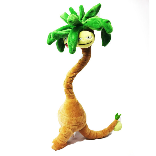 38CM Nassy Exeggutor Noadkoko Kokowei Anime Figure Toy Plush Stuffed Doll Collectible Toy Christmas Gift Japanese Plush