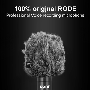 Image 2 - Оригинальный Встроенный микрофон Rode VideoMicro, микрофон для записи голоса и интервью для смартфонов Canon, Nikon, Sony