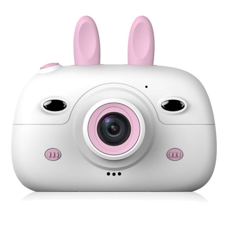 1080P Digital Video Camera Rechargeable Child Camcorder Shockproof Kids Toy Camera With 2.4 Inch IPS Screen,16GB TF Card, Gift F