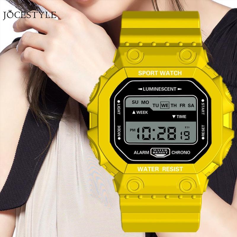 Fashion Women Men Watches Sports Digital Watch Waterproof Alarm Man Wrist Electronic Clock Casual Sports Electronics Wristwatch