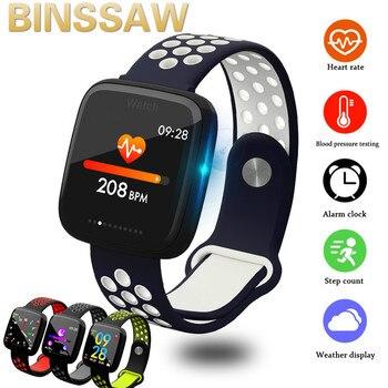 2020 Smart Watch BINSSAW  IP67 Waterproof Sedentary Reminder Bluetooth Dial Call Heart Rate Monitor GPS Watch sports Smartwatch