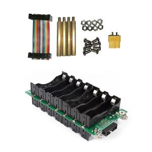Image 5 - Panel Solar de almacenamiento para bicicleta eléctrica, cargador de batería de 29,4 V, 7s, BMS, Li ion, 18650, HolderPCB, bricolaje, Panel de alimentación