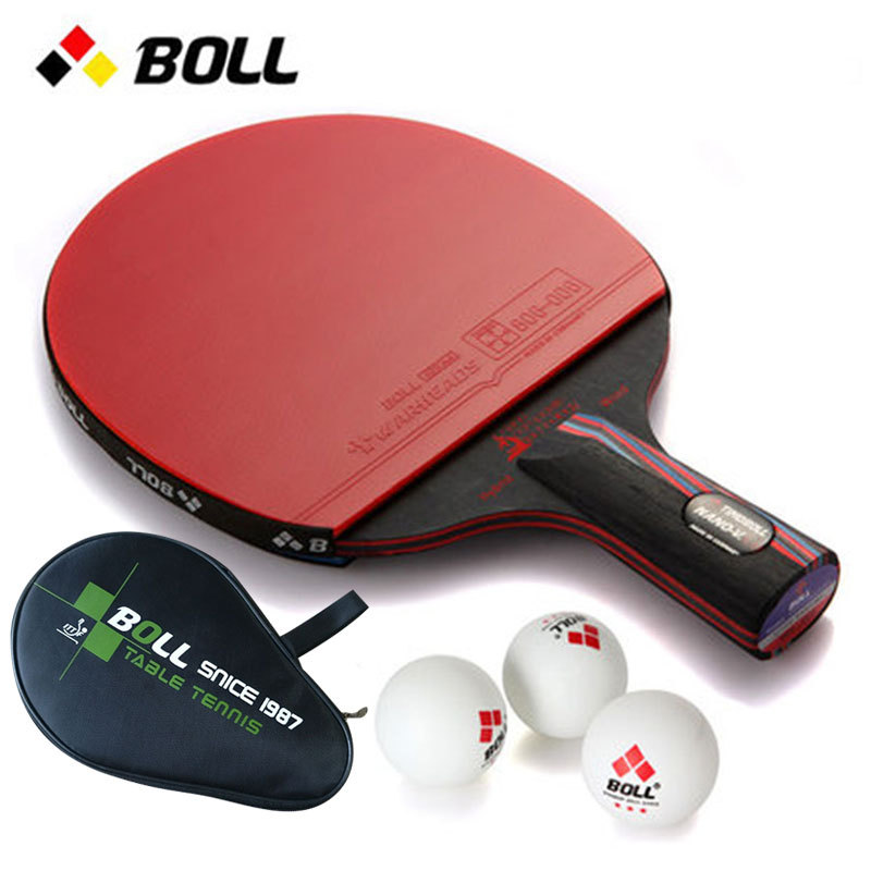 Boll Penhold Horizontal Position Table Tennis Racket Beginners Six Star Single Purchase 1 Just For Star-level Dual Capture 2 Loa