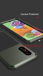 Image 4 - Coque de protection complète antichoc 360 ° pour Samsung Galaxy A51 A71 A50 A70S A90 5G A40S A30S, protection antichoc en aluminium
