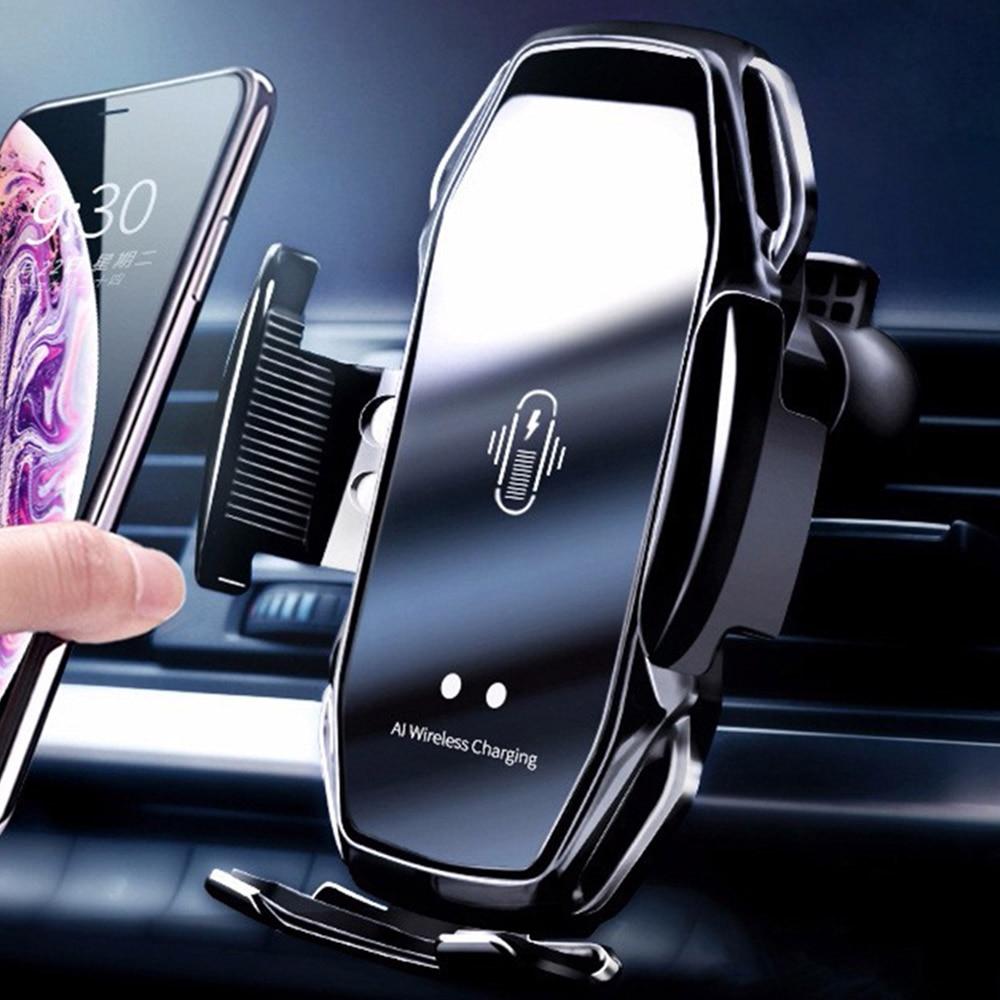 Автомобильный держатель для мобильного телефона KISSCASE, умный держатель для телефона с инфракрасным датчиком в автомобиле, подставка, беспро...