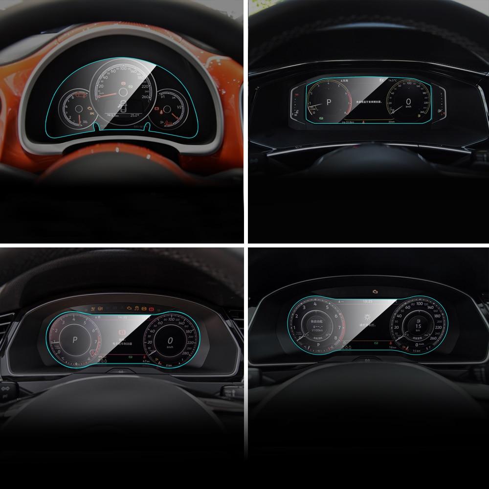 Car Instrument Panel Screen Protector For Volkswagen VW CC Beetle C-TREK Tayron Scirocco Multivan Passat Variant Interior Film