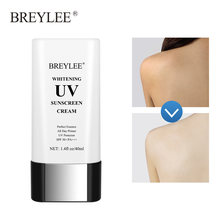 BREYLEE-crema blanqueadora UV para el cuidado de la piel, Protector Solar, Gel bloqueador Solar, hidratante, Control de aceite, nutritivo, SPF50