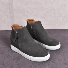 High Quality Women Sneakers New Wedges Breathable Comfortable Vulcanize