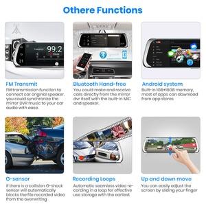 Image 5 - Junsun 4G Android Car DVR with Parking Monitor FHD 1080P RearView Mirror ADAS Dash Cam Camera Video Recorder Registrar Dashcam