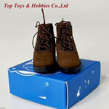 1/6 весы действительной службы кожаные короткие ботинки в стиле