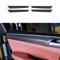 Автомобильные аксессуары  100% Настоящее углеродное волокно  для межкомнатных дверей  в полоску  Dec  накладка  4 шт.  для BMW X3 F25 2011-2014 & X4 F26 2015-2017