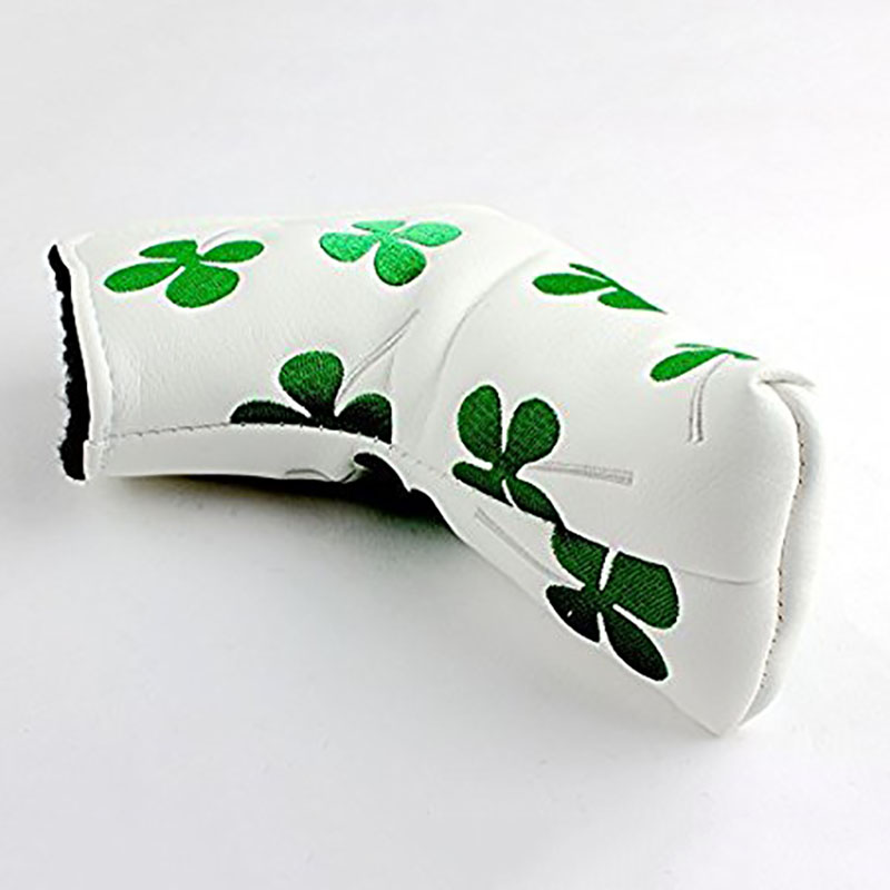 Golf Putter Head Cover Headcover For Odyssey Scotty Cameron Ping Blade New Golf Embroidered Four-leaf Clover Club Heads