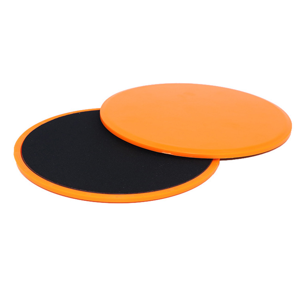 1 Pair Gliding Disc Iron Core Home Fitness Equipment Exercise Ultimate Gym Accessories Yoga Abdominal Dual Sided Body Workout image