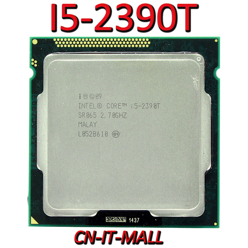 Intel Core I5-2390T CPU 2.7G 3M 2 Core 4 Thread LGA1155 Processor